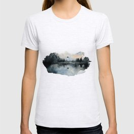 The lake nearby T-shirt