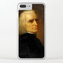 Franz Liszt (1811-1886) by Carl Ehrenberg in 1868 Clear iPhone Case