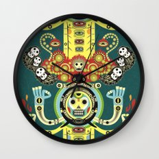 The Gate-Totem Wall Clock