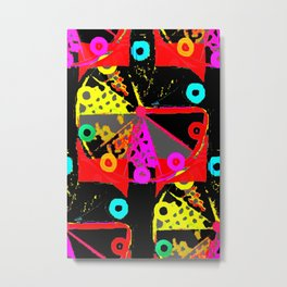This Lover Loves Boldness Of Colour Metal Print