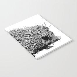 Leaf Hedgehog Notebook