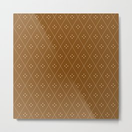 Mae Pattern XXV Metal Print