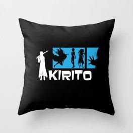 Kirito Throw Pillow
