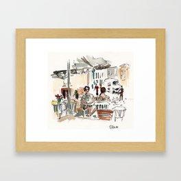 Girls in Cluj Framed Art Print