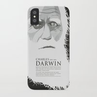 darwin iPhone & iPod Cases featuring Darwin by James Northcote