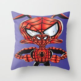Spider Verse Ham 3 Throw Pillow