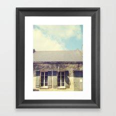 The Old Shop Framed Art Print
