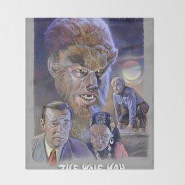 The Wolf Man (1941) Throw Blanket