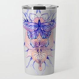 Butterfly Orchid Travel Mug
