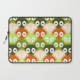 susuwatari pattern (color version) Laptop Sleeve