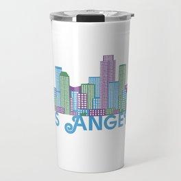 Los Angeles Skyline Travel Mug