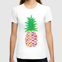 pineapple T-shirts featuring Pineapple by Lindsay Milgrim