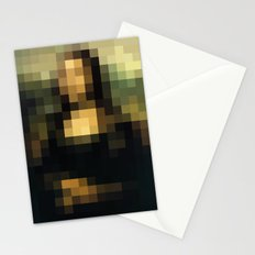 PIXELEON-Monalisa Stationery Cards