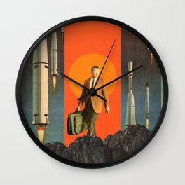 The Departure Wall Clock