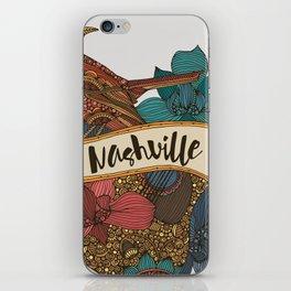 Nashville guitar iPhone Skin