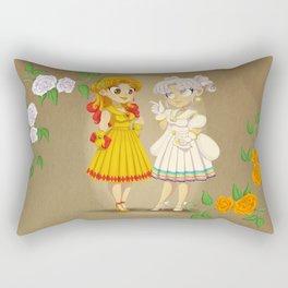 Retro Sailor Galaxia & Cosmos Rectangular Pillow