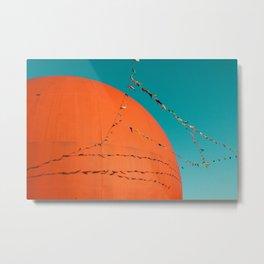 Grand Orange Metal Print