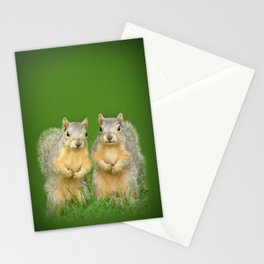 Squirrels-Brothers Stationery Cards