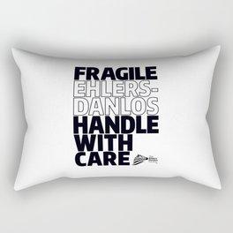 EDS Awareness - FRAGILE! Rectangular Pillow