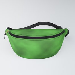 Vivid Green Foil Smooth Metal Texture Festive / Christmas Fanny Pack