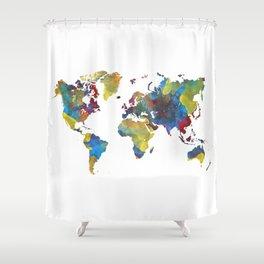 World map 2050 iphone skin by jbjart society6 world map 2050 shower curtain gumiabroncs Gallery