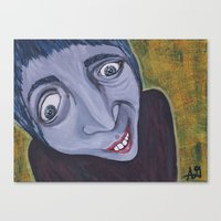home alone Canvas Prints featuring Home Alone by Practicing Voodoo
