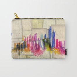 Color New York Skyline 01 Carry-All Pouch