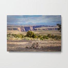 Desert View Drive Metal Print