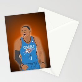 Oklahoma Thunder - Russell Westbrook Stationery Cards
