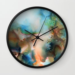 Orchid 2016 Wall Clock