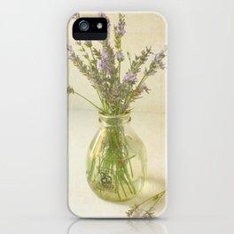 Lavender and Milk iPhone Case