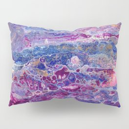 Psycho - Stream of Consciousness in Lively Color Flow by annmariescreations Pillow Sham