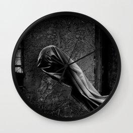 Ghostly Wall Clock
