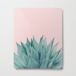 Agave Vibes #5 #tropical #decor #art #society6 Metal Print