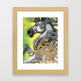 Everything Stone Turns To Gold Framed Art Print