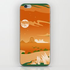 Monument Moon iPhone & iPod Skin