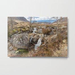 Falls in Glencoe Metal Print