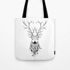 Poetic Deer Tote Bag