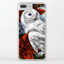 Winter winds Clear iPhone Case