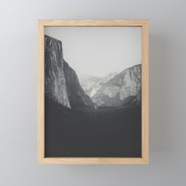Yosemite Valley VI Framed Mini Art Print