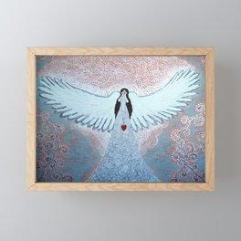 Angel Elerial Framed Mini Art Print