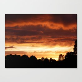 Ever-Changing Sky No1 Canvas Print