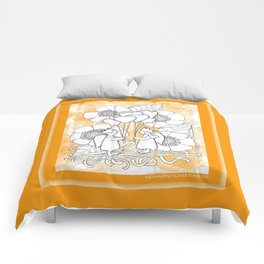 Kids with Hearts of Gold A Zentangle Illustration for Children Comforters