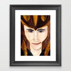 Loki Laufeyson Framed Art Print