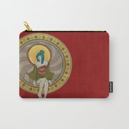 Mandala Girl Carry-All Pouch