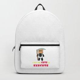Dream Plan Execute T-shirt Design Cute execute Backpack