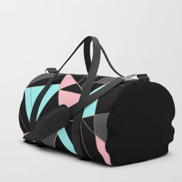 Abstraction . 5 geometric pattern Duffle Bag