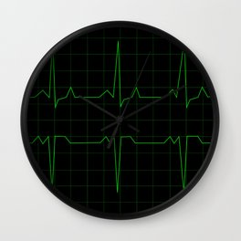 Normal Heart Rhythm Wall Clock