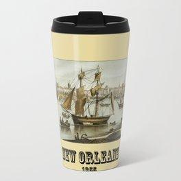 New Orleans 1855 Travel Mug