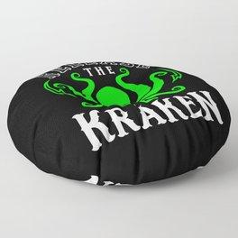 Release The Kraken Floor Pillow